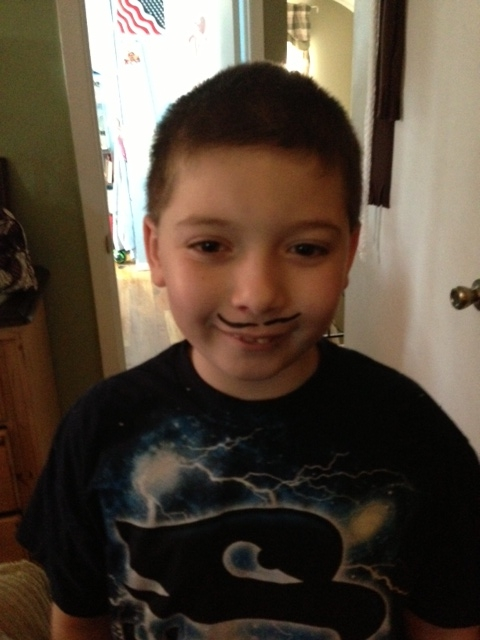 Spirit week i have to draw a mustache on your face image ccuart Choice Image